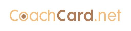 CoachCard.net embléma - fehér téma - fehér háttér - 1920x452 pixel - 150490 byte