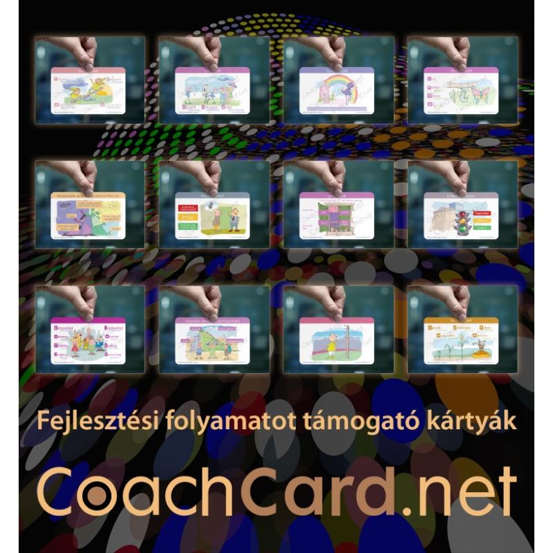 12 kártyát tartalmazó csomag Fejlesztési folyamatot támogató kártyákból 12 fajta, mindegyikből 1-1 darab (12 kártya)