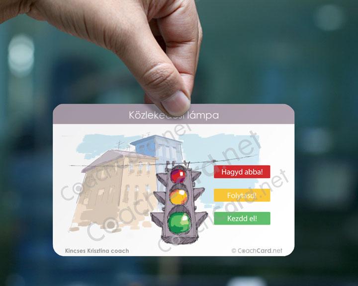 Közlekedési lámpa A modell abban segíti az ügyfelet, hogy akár mások visszajelzésére, akár saját önismeretére alapozva mit kéne folytatnia, optimalizálnia és sürgősen megváltoztatnia az életében annak érdekében, hogy céljához közelebb kerüljön.