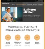 CoachCard.hu reszponzív nyitó oldala - 2 - 2016. március  - 768x828 pixel - 305791 byte
